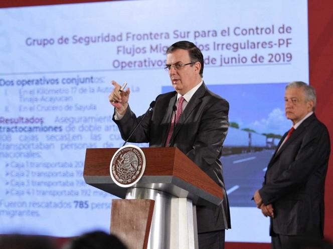 Va México contra traficantes de migrantes en EU