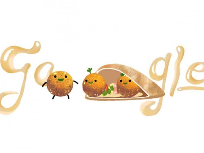 Google celebra el día del falafel y ¡es adorable!