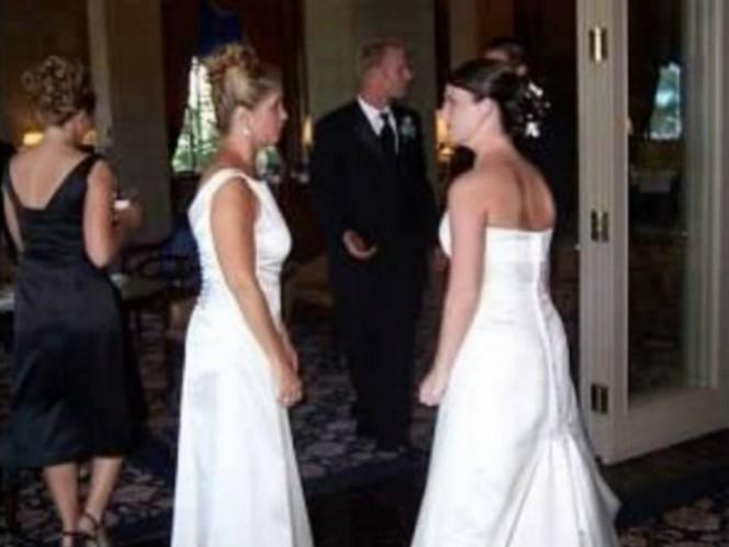 Su suegra llegó vestida de novia a la boda y así reaccionó