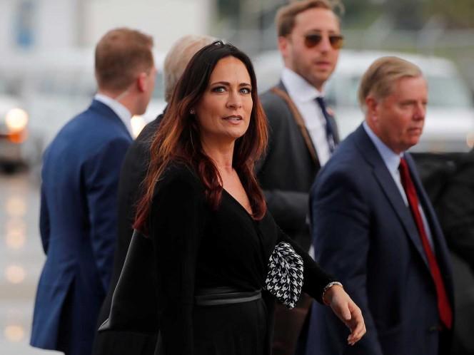 Stephanie Grisham es la nueva portavoz de la Casa Blanca
