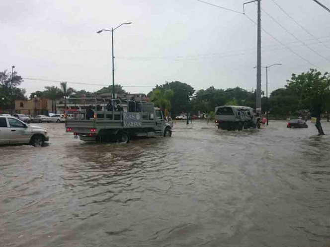 Semar activa Plan Marina ante lluvias en Reynosa