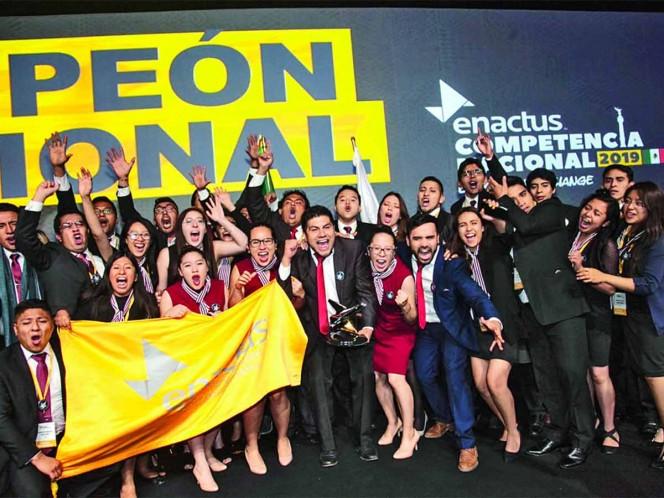 Forman nuevos emprendedores; alianza KPMG y ENACTUS