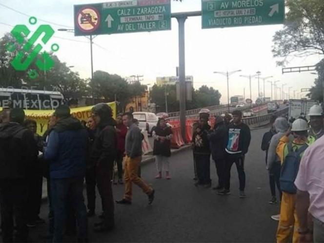 Bloqueos en la Granjas México y otras afectaciones viales