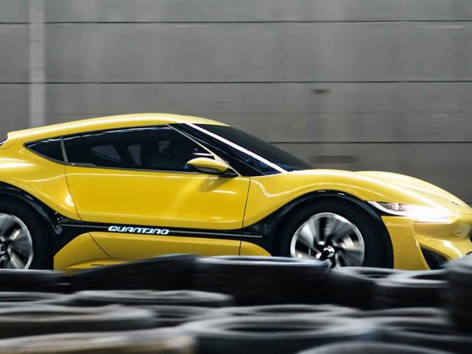 NanoFlowcell QUANTINO : el auto eléctrico que funciona con agua salada