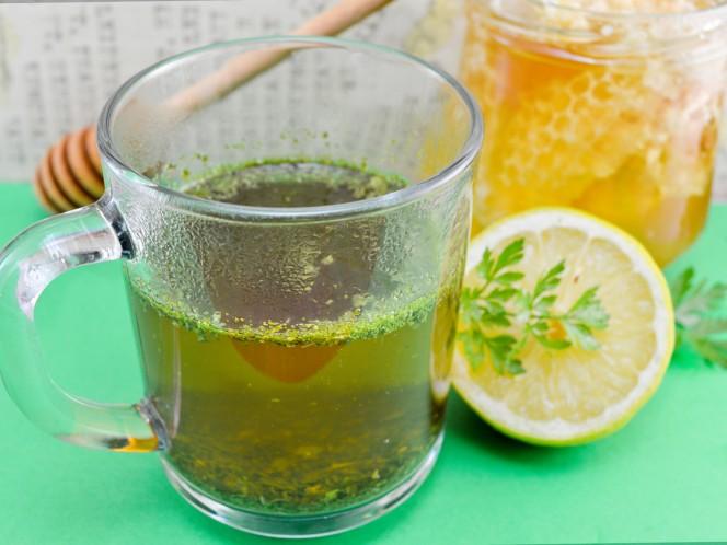 Baja de peso en tres días con el té de perejil