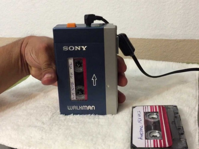 Cumple el Walkman 40 años
