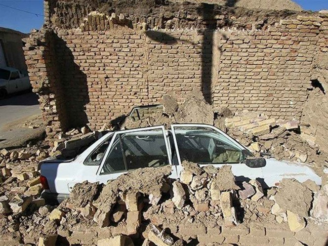 Irán registra sismo de magnitud 5.7 grados; reportan 1 muerto