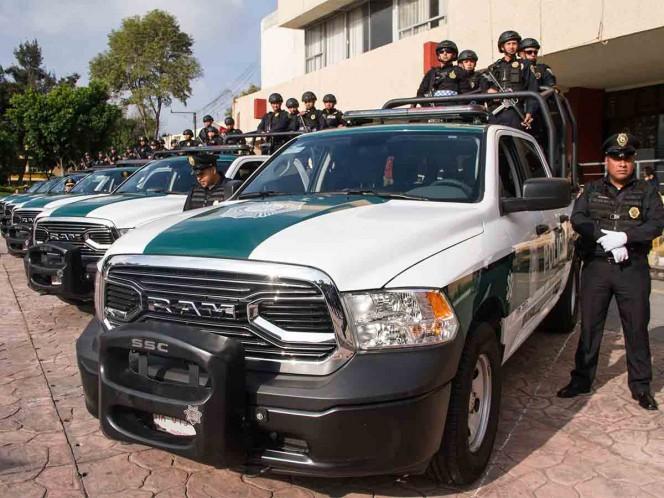 Patrullajes metropolitanos en Benito Juárez y Miguel Hidalgo