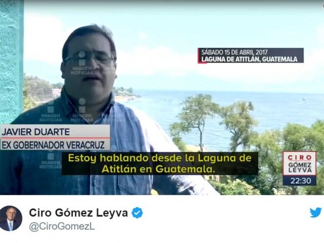 Niega Osorio Chong 'acuerdo' con Duarte; 'es un corrupto desesperado'