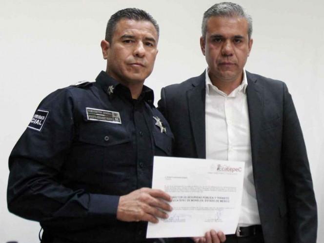 Designan a polémico jefe de la policía en Ecatepec