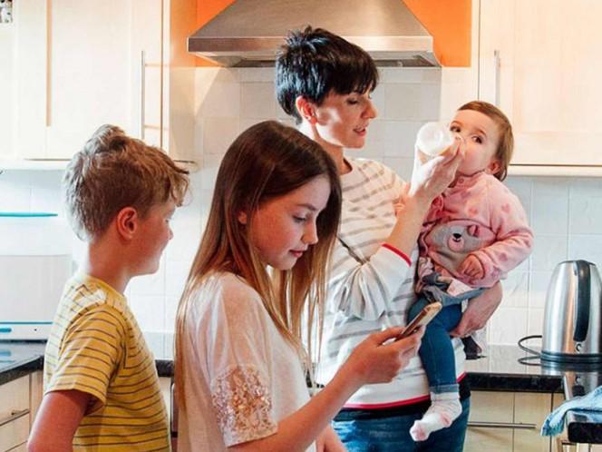Las mamás de tres hijos son las más estresadas, según estudio