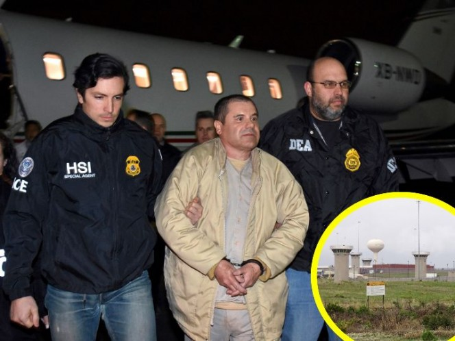Sin visitas, sin luz y con vigilancia 24/7: Así vivirá 'El Chapo'
