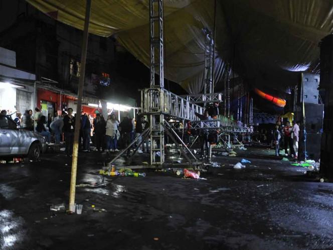 Las personas lesionadas fueron trasladadas a diferentes hospitales por sus propios medios. Foto: Cuartoscuro