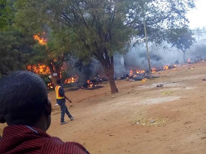 62 muertos tras explosión por