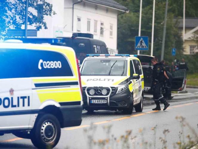 Tiroteo en una mezquita en Noruega dejó un herido