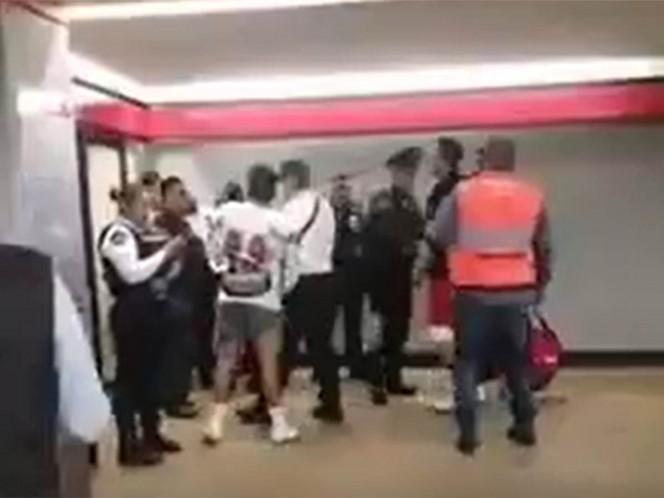 Jugadores de futbol americano detienen a ladrón