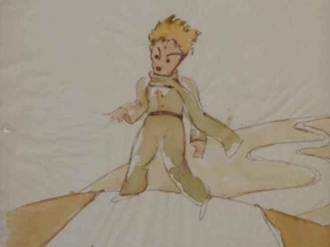 Hallan bocetos de 'El Principito' hechos por Antoine de Saint-Exupéry