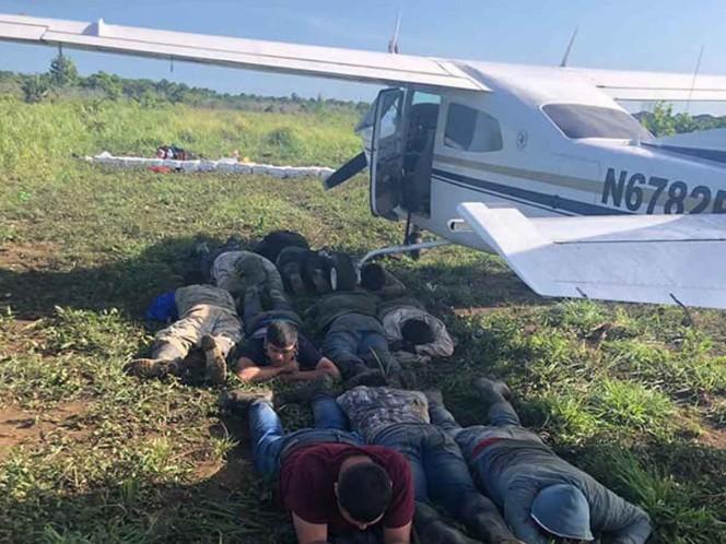 Once mexicanos y un colombiano son detenidos en Guatemala por narcotráfico