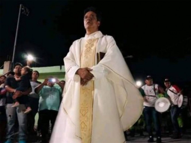 Velan al sacerdote que fue apuñalado en Matamoros