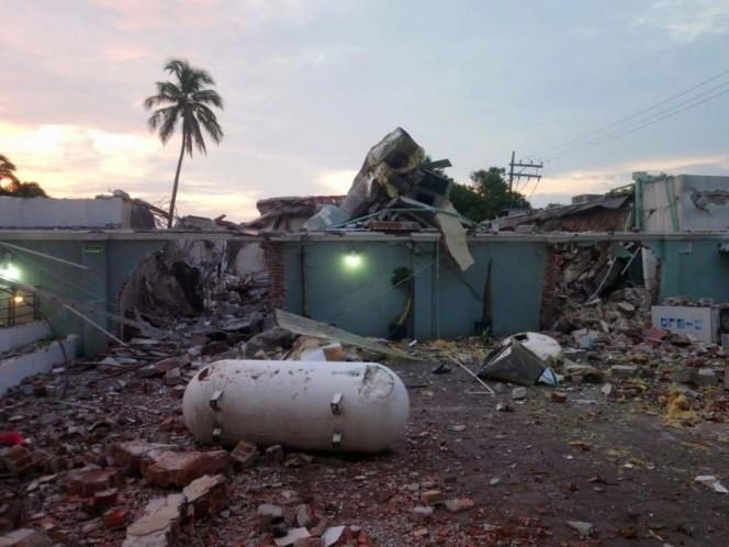 La onda expansiva fue de alrededor de 100 metros, afectando viviendas y otros restaurantes. Foto: Vía @xevtfm