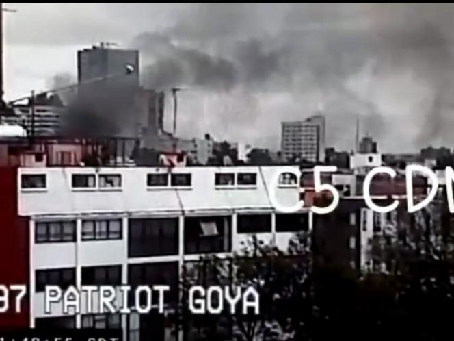 Incendio, Benito Juárez, Ciudad de México, C5, CDMX