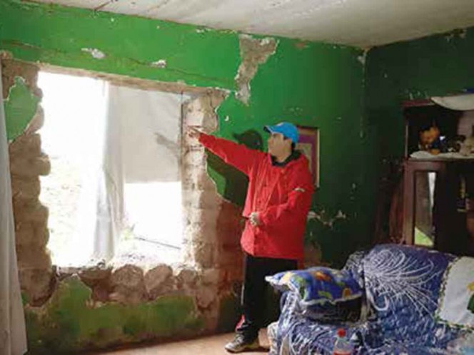 En el olvido, 150 familias; falta apoyo para reconstrucción