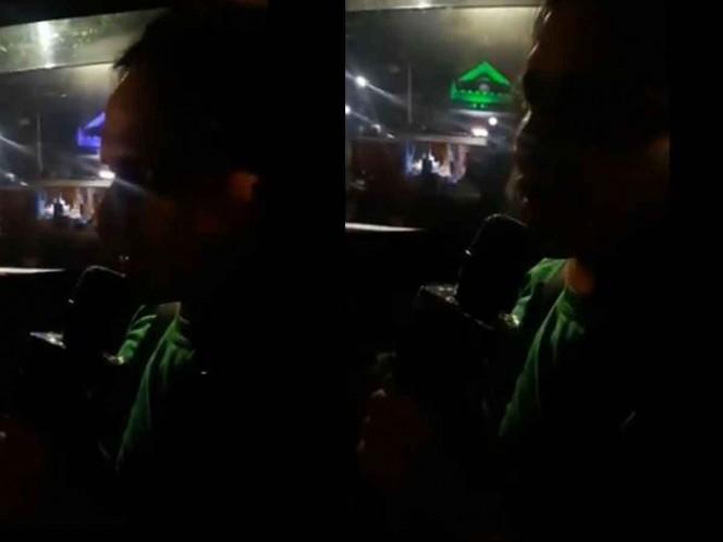 Taxista le canta canción a pasajero y se viraliza en redes