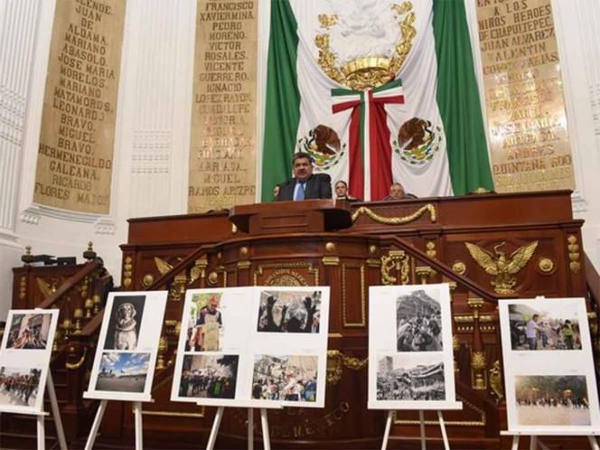 Realiza Congreso CDMX Sesión Solemne por sismos de 1985 y 2017