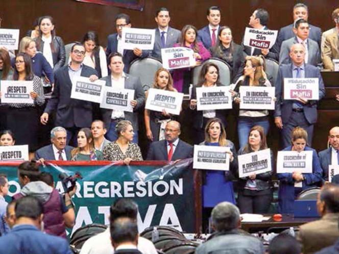 Oposición pierde la batalla; ordenamientos pasan sin cambios