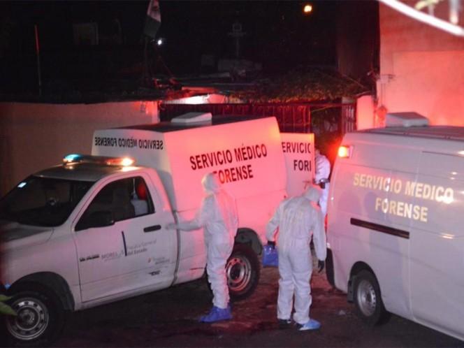 Seis jóvenes fueron ejecutados en Cuernavaca