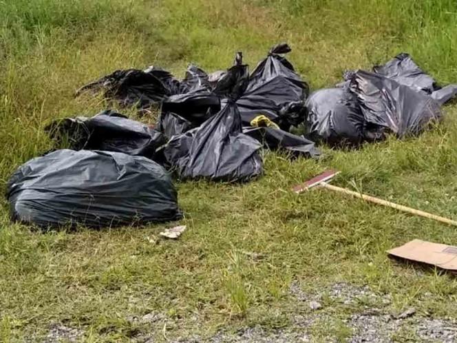 Hallan 17 bolsas con restos humanos en Tala, Jalisco