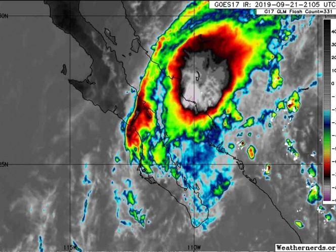 Alerta en Sonora ante tote tropical del Lorena