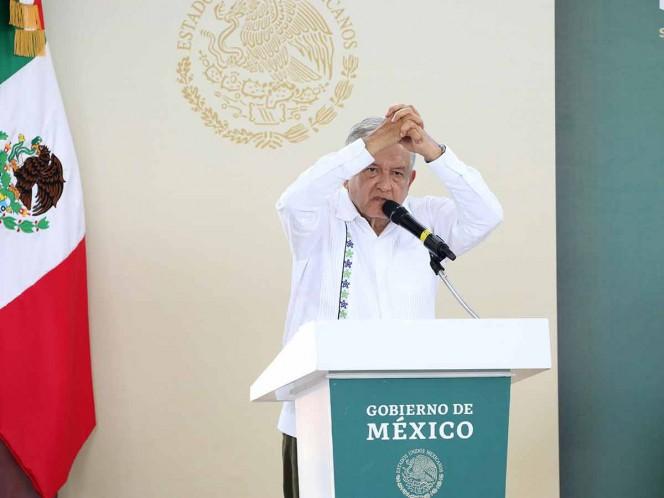 López Obrador continuará su gira este domingo por Campeche. Foto: Cuartoscuro