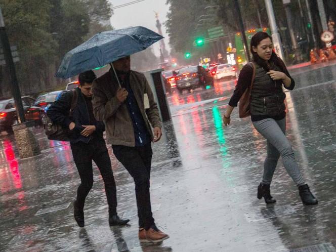 ¡Atento!, el Valle de México espera lluvias por la tarde