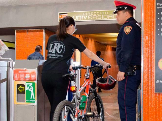 Habrá acceso a 'bicis' en el Metro durante la noche