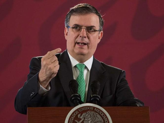 Ebrard encabezará delegación mexicana en Asamblea de ONU