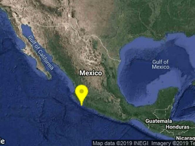 Sismo de magnitud 4.8 sacude Colima
