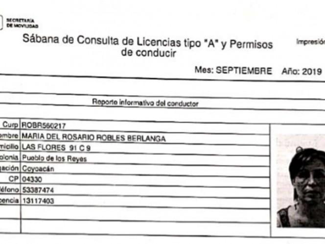 Confirman que Rosario Robles no tramitó licencia con domicilio en Polanco