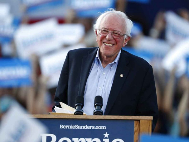 Confirman que precandidato presidencial de EEUU Bernie Sanders sufrió un infarto