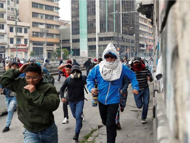 Declaran en emergencia a capital de Ecuador por manifestaciones antigubernamentales