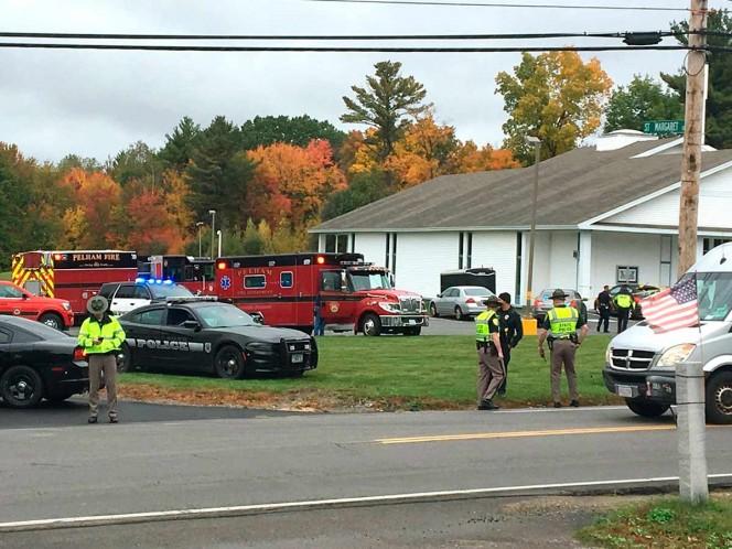 Otro tiroteo en EU al menos 2 heridos en iglesia de New Hampshire