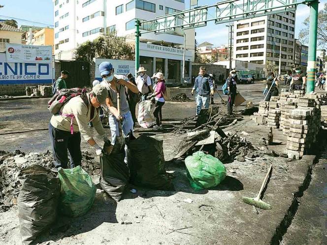 Vuelve la calma a Ecuador; acaba toque de queda