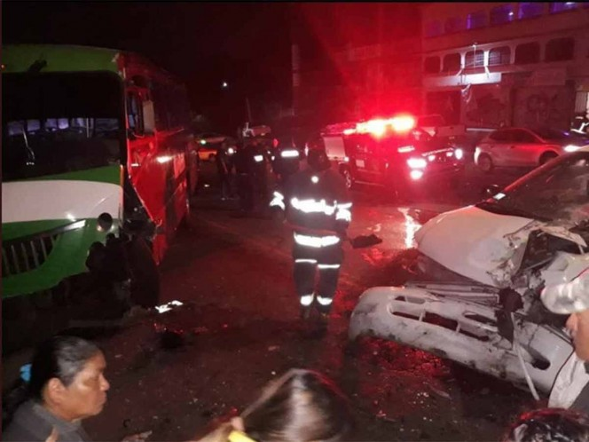 Crash leaves 8 injured in Picacho-Ajusco