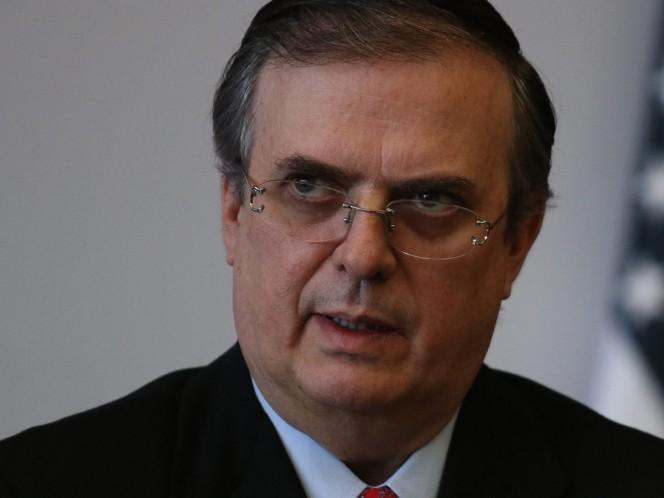 Marcelo Ebrard, titular de la SRE, aseguró que el Gobierno de México se mantiene en alerto de los 10 mil mexicanos que viven en Bolivia. Foto: Cuartoscuro