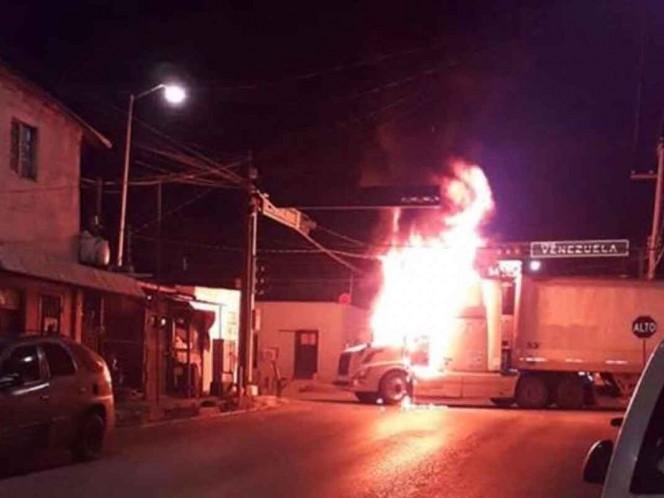 Se registra noche violenta en Nuevo Laredo