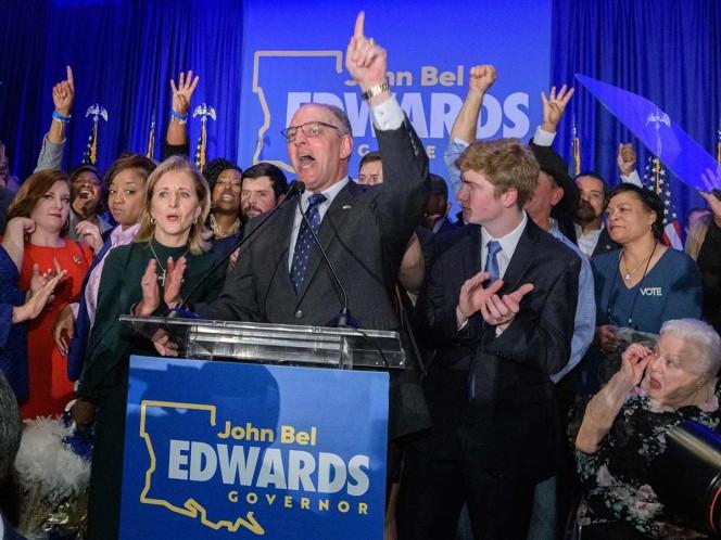 La conservadora Luisiana reelige al demócrata Edwards