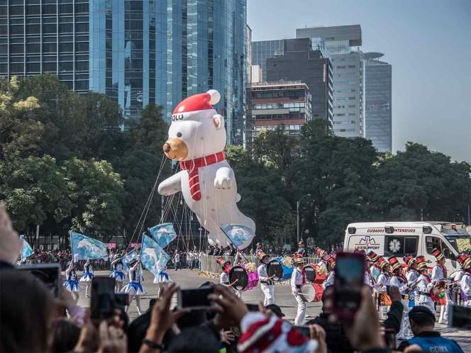 Este sábado habrá desfile navideño en Paseo de la Reforma