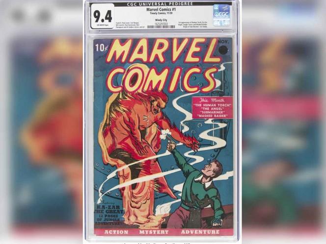 Venden en más de un millón de dólares primer número de Marvel Comics