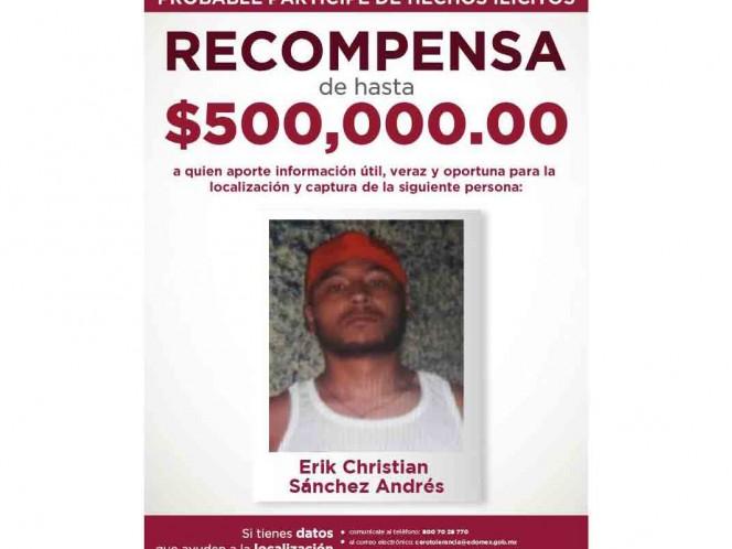 Ofrecen recompense por homicida de edil de Valle de Chalco