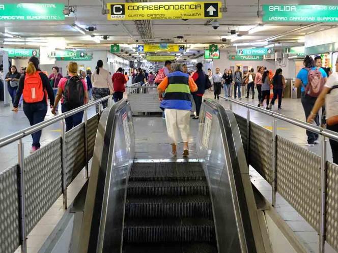 Metro restablece el servicio de estaciones que habían cerrado por manifestaciones